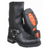 Xelement 1443 Men's Motorcycle Harness Biker Boot with Lug Sole