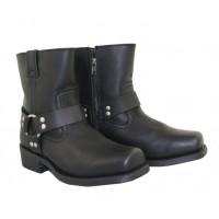 Xelement Zipper Harness Motorcycle Boots 1502