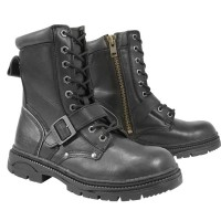 Xelement Men's Lace and Buckle Advanced Motorcycle Boots LU1599